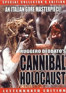 Cannibal Holocaust - DVD cover (xs thumbnail)