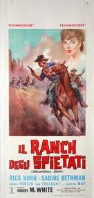 Oklahoma John - Italian Movie Poster (xs thumbnail)