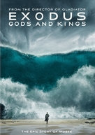 Exodus: Gods and Kings - DVD cover (xs thumbnail)