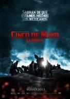 Cinco de Mayo: La batalla - Mexican Movie Poster (xs thumbnail)