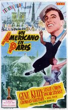 An American in Paris - Spanish Movie Poster (xs thumbnail)