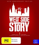 West Side Story - Australian Blu-Ray movie cover (xs thumbnail)
