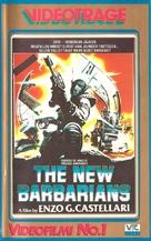 I nuovi barbari - Finnish VHS cover (xs thumbnail)