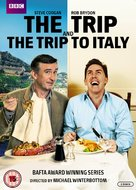 The Trip to Italy - British DVD cover (xs thumbnail)