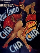 Què lindo Cha Cha Cha - Mexican Movie Poster (xs thumbnail)