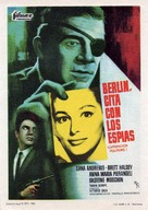 Berlino - Appuntamento per le spie - Spanish Movie Poster (xs thumbnail)