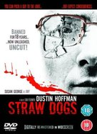 Straw Dogs - British DVD movie cover (xs thumbnail)
