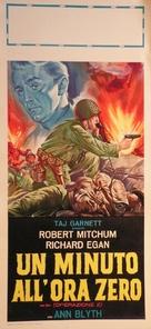 One Minute to Zero - Italian Movie Poster (xs thumbnail)