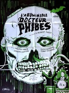The Abominable Dr. Phibes - French Movie Poster (xs thumbnail)