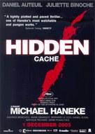 Caché - Thai Movie Poster (xs thumbnail)