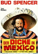 Si può fare... amigo - German Movie Poster (xs thumbnail)