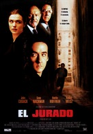 Runaway Jury - Spanish Movie Poster (xs thumbnail)