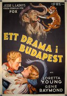 Zoo in Budapest - Swedish Movie Poster (xs thumbnail)