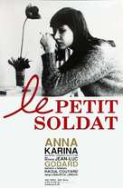 Le petit soldat - French Re-release poster (xs thumbnail)