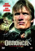 The Defender - Polish DVD cover (xs thumbnail)