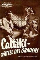 Caltiki - il mostro immortale - German poster (xs thumbnail)