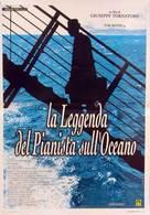La leggenda del pianista sull'oceano - Italian Movie Poster (xs thumbnail)