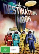 Destination Moon - Australian DVD cover (xs thumbnail)