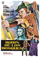 The Adventures of Robin Hood - Spanish Movie Poster (xs thumbnail)