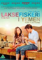 Salmon Fishing in the Yemen - Danish DVD cover (xs thumbnail)