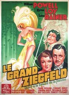 The Great Ziegfeld - French Movie Poster (xs thumbnail)