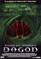 Dagon - French DVD cover (xs thumbnail)