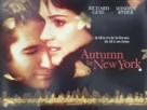 Autumn in New York - British Movie Poster (xs thumbnail)