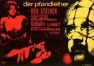 The Pawnbroker - German Movie Poster (xs thumbnail)