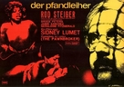 The Pawnbroker - German Movie Poster (xs thumbnail)