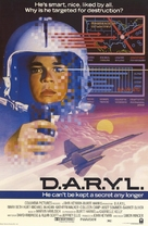 D.A.R.Y.L. - Theatrical movie poster (xs thumbnail)
