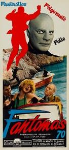 Fantômas - Italian Theatrical poster (xs thumbnail)