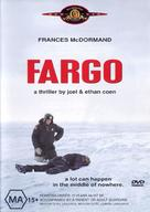 Fargo - Australian DVD movie cover (xs thumbnail)