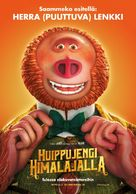 Missing Link - Finnish Movie Poster (xs thumbnail)