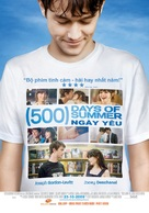 (500) Days of Summer - Vietnamese Movie Poster (xs thumbnail)