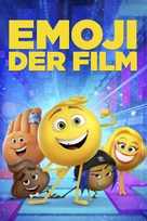 The Emoji Movie - German Movie Cover (xs thumbnail)