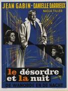 Désordre et la nuit, Le - Belgian Movie Poster (xs thumbnail)
