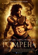 Pompeii - German Movie Poster (xs thumbnail)