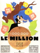 Million, Le - French Movie Poster (xs thumbnail)