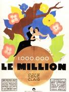Million, Le - French Movie Poster (xs thumbnail)