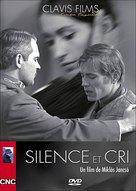 Csend és kiáltás - French DVD cover (xs thumbnail)