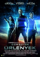 Cowboys & Aliens - Hungarian Movie Poster (xs thumbnail)