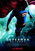 Superman Returns - French Movie Poster (xs thumbnail)