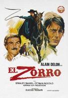 Zorro - Spanish Movie Poster (xs thumbnail)