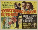 Everything I Have Is Yours - Movie Poster (xs thumbnail)