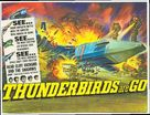Thunderbirds Are GO - British Movie Poster (xs thumbnail)