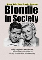 Blondie in Society - Movie Cover (xs thumbnail)