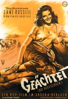 The Outlaw - German Movie Poster (xs thumbnail)