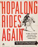 Hopalong Rides Again - poster (xs thumbnail)