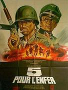5 per l'inferno - French Movie Poster (xs thumbnail)