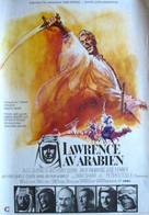 Lawrence of Arabia - Swedish Movie Poster (xs thumbnail)